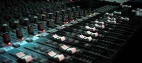 Studio Mixing Board