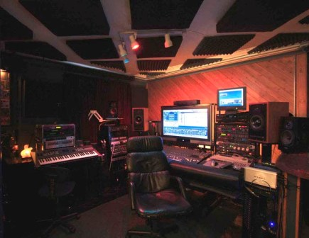 Recording Studios NYC Control Room Long View
