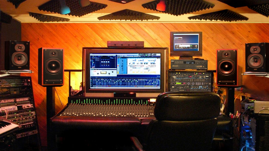 Studio Ray Recording Control Room